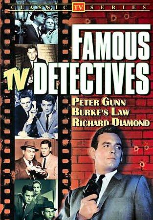 FAMOUS TV DETECTIVES (PETER GUNN/BURK BY STEVENS,CRAIG (DVD)