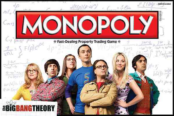 Monopoly : the Big Bang Theory By Usaopoly (COR)